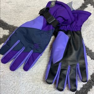🌟Columbia snow raid Omni heat winter/ski gloves